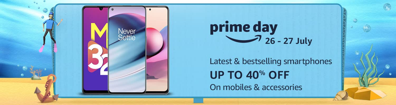 Smart phone and mobile deals on amazon prime day 2021